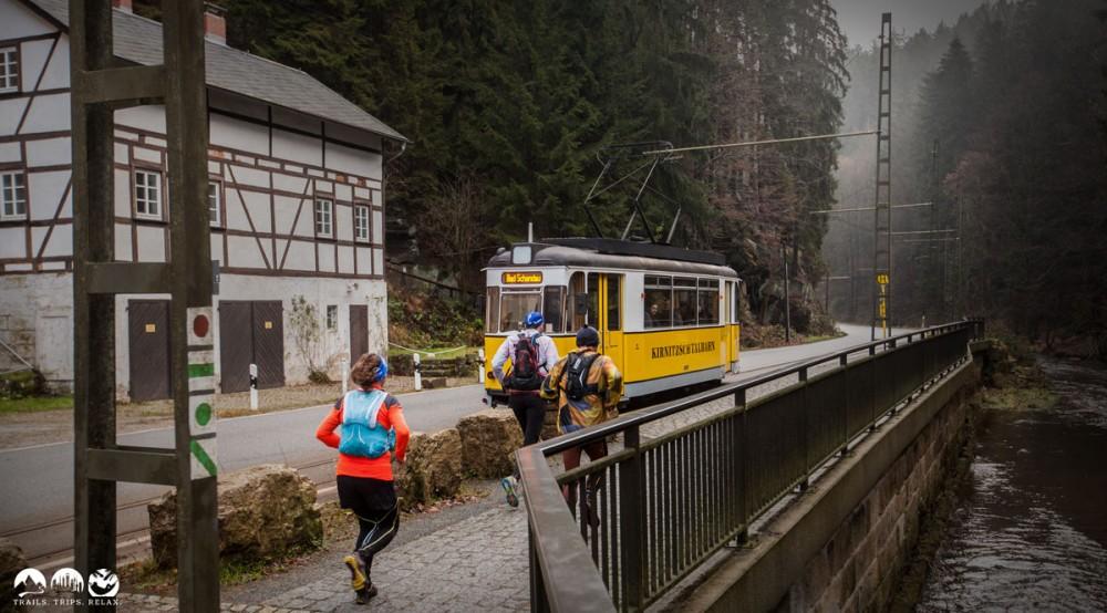 Kirnitztalbahn am Beuthener Wasserfall