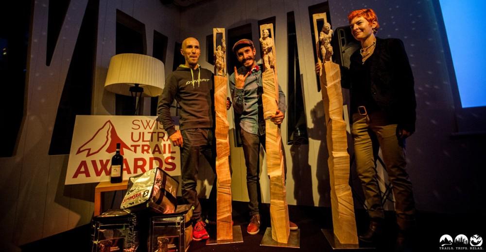 Gewinner des ersten Swiss UltraTrail Awards
