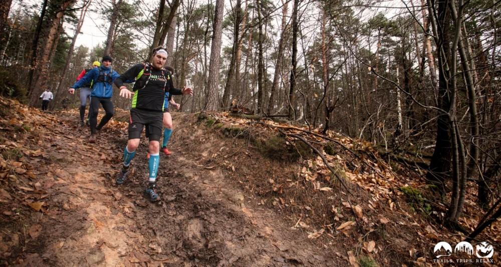 Lars auf dem letzten Downhill