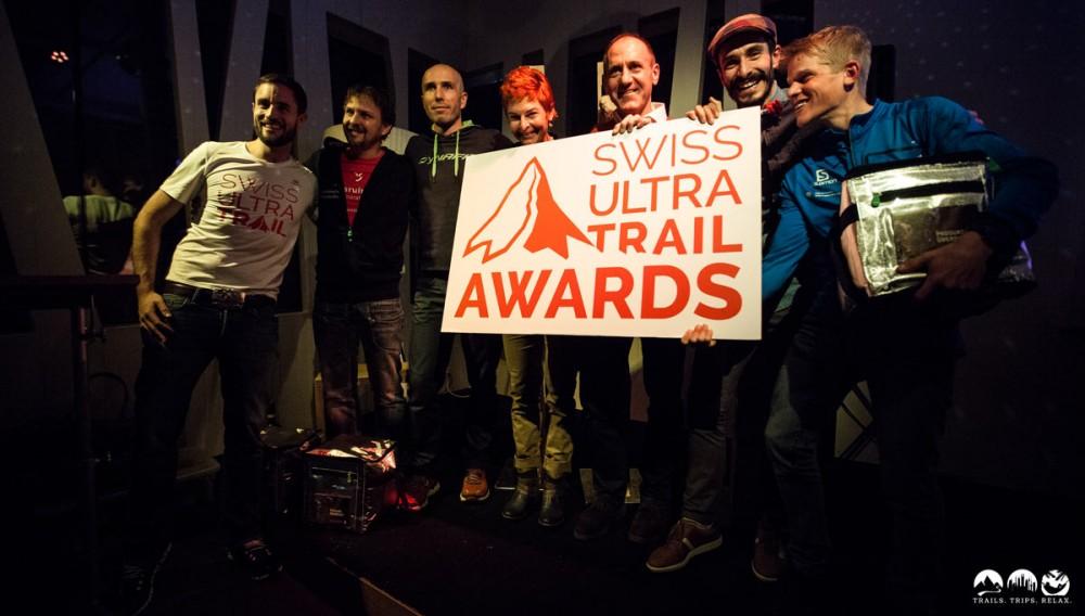 Die Platzierten der Swiss UltraTrail Awards