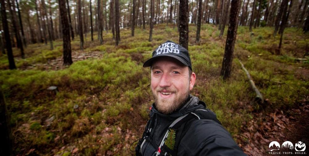 Darf nicht fehlen: Revierguide Wald-Selfie.
