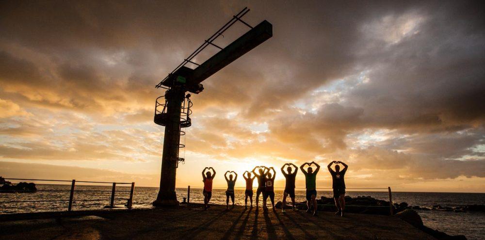 Yoga zum Sonnenaufgang auf Madeira