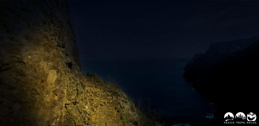 So könnte die Boca do Risco in der Nacht sein