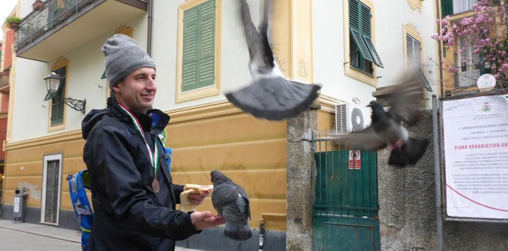 Bujalin der Tauben-Flüsterer