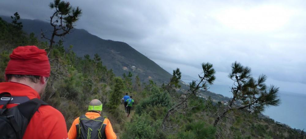 Downhill Richtung Ziel