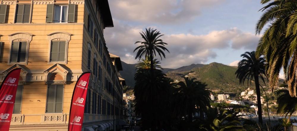 Grandhotel Arenzano und die Berge im Hinterland