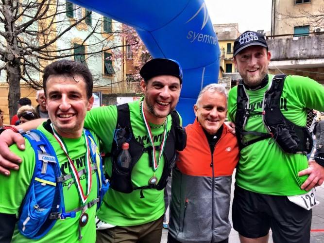 Team Rock'n Trail und der Organisator