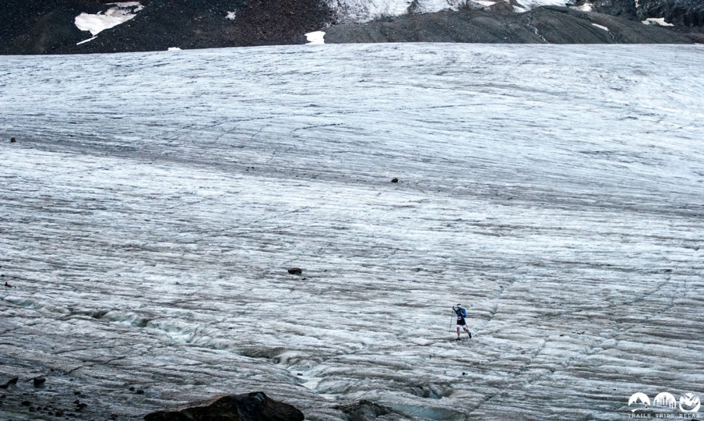 Querung des mächtigen Pitztal Gletscher