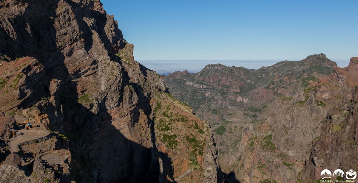 Madeira Island Ultra Trail 2016: km42-47 Pico Ruivo zum Pico Areeiro