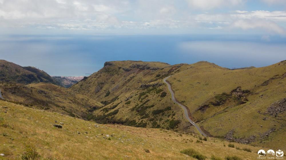 Blick Richtung Funchal