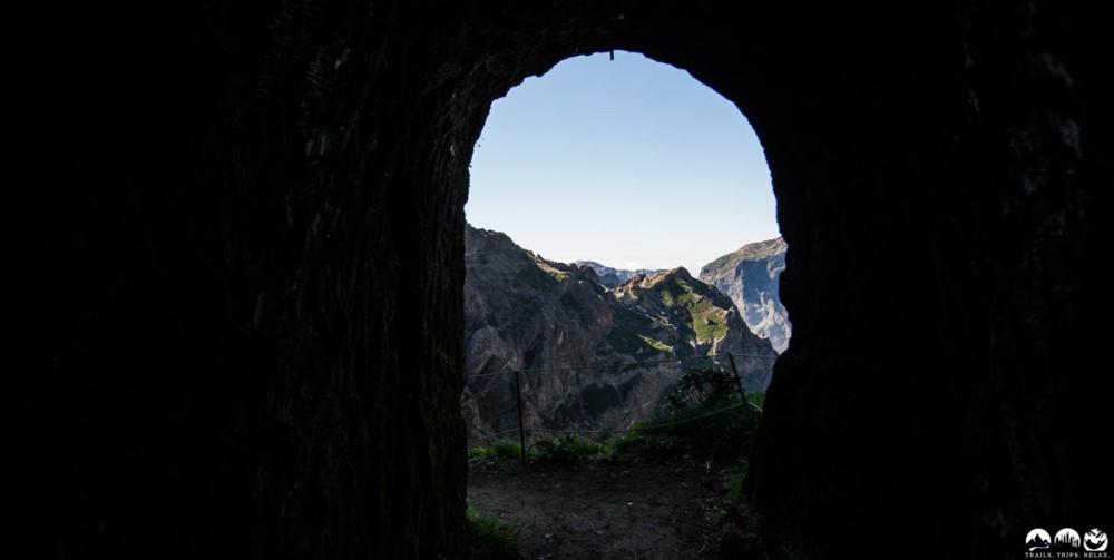 Tunnel Ausgang Pico Areeiro