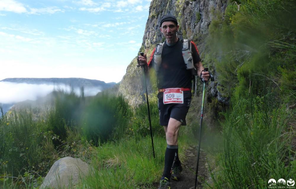 Guntram, er hat schon viele Kilometer mehr als ich in den Beinen.