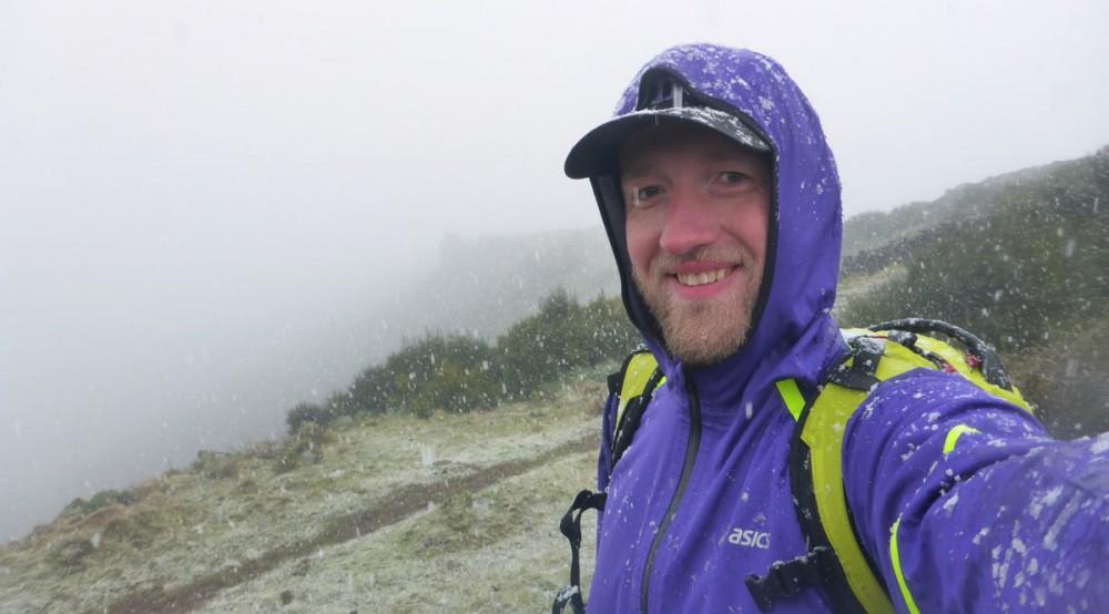 Schnee auf dem Pico Areeiro