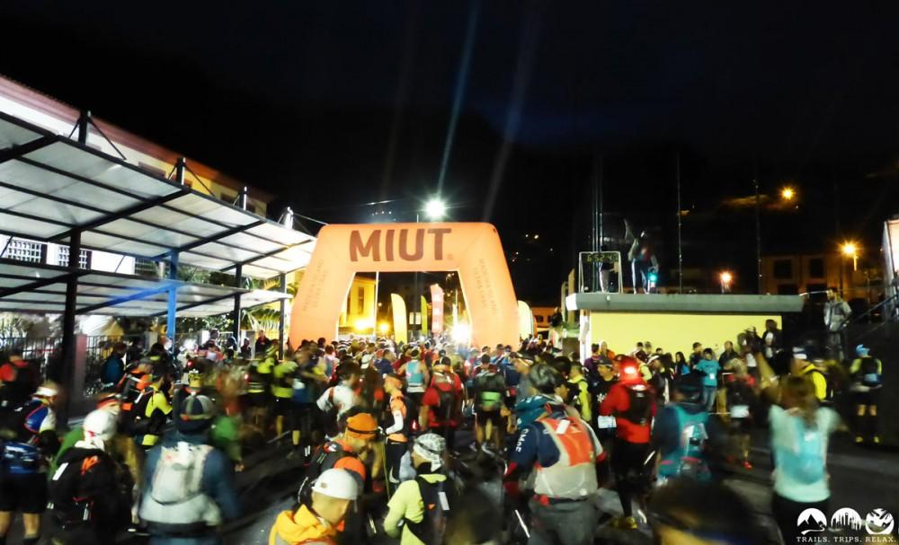 Der Start des Madeira Island Ultratrail 85k
