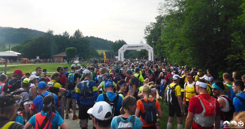 Start des UTLW im Seepark Arrach