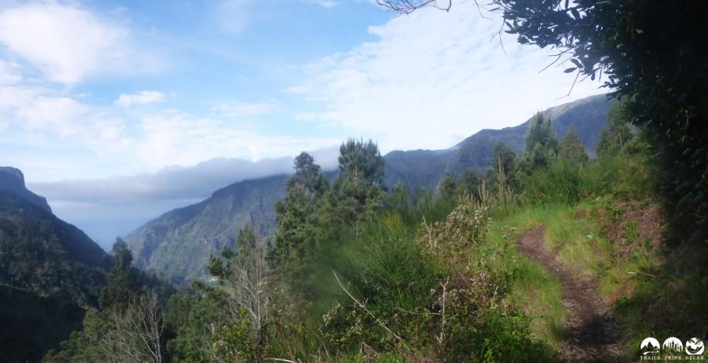 Tolle Trails mit wahnsinnigen Ausblicken.