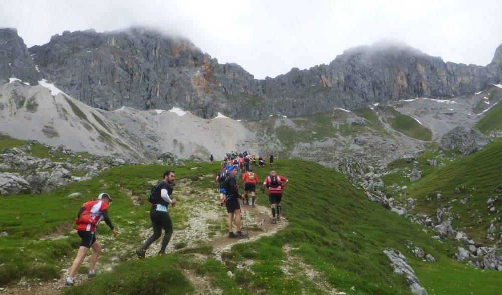 Jahn beim Aufstieg zum Scharnitzjoch