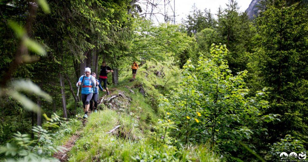 Unter der Nebelhornbahn auf verborgenen Trails