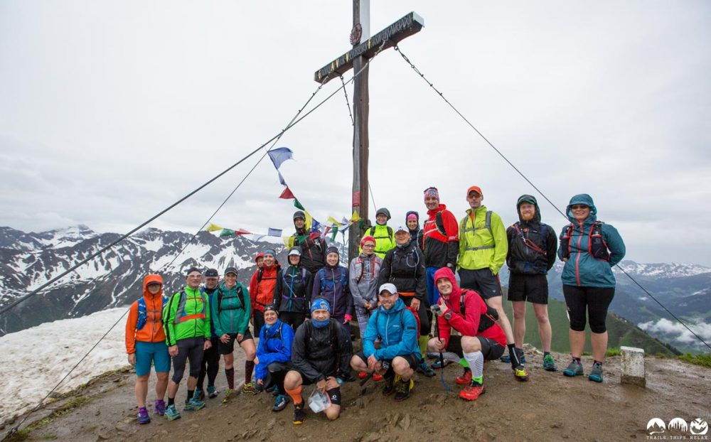 Trampelpfad-Läufer auf dem Fellhorn