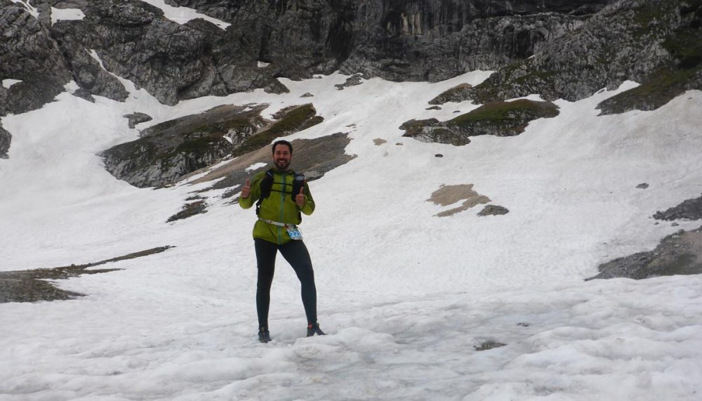 """Jahn auf dem """"Gletscher"""""""