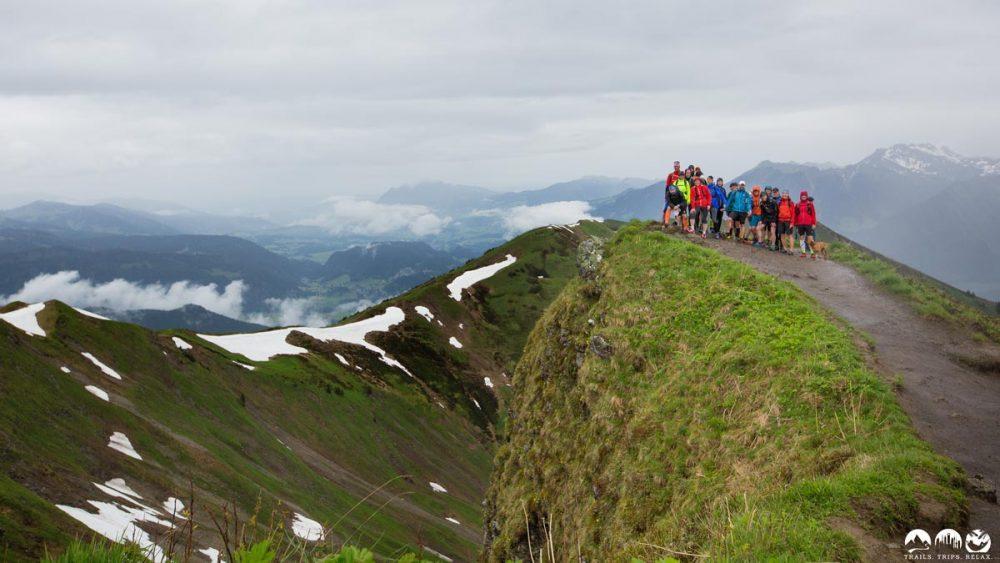 Gruppenbild auf dem Fellhorn