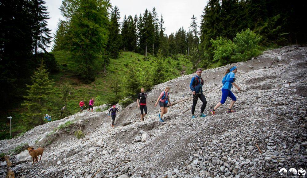 Der Trail zum Rubihorn