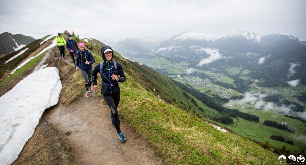 Auf dem Trail vom Fellhorn zum Schlappoltkopf