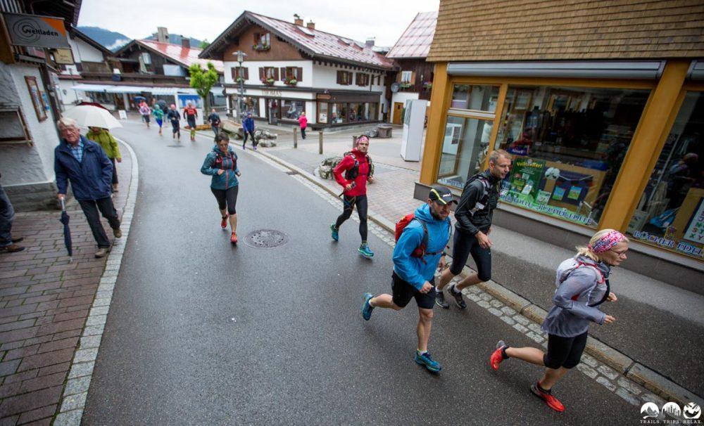 Durch Oberstdorf