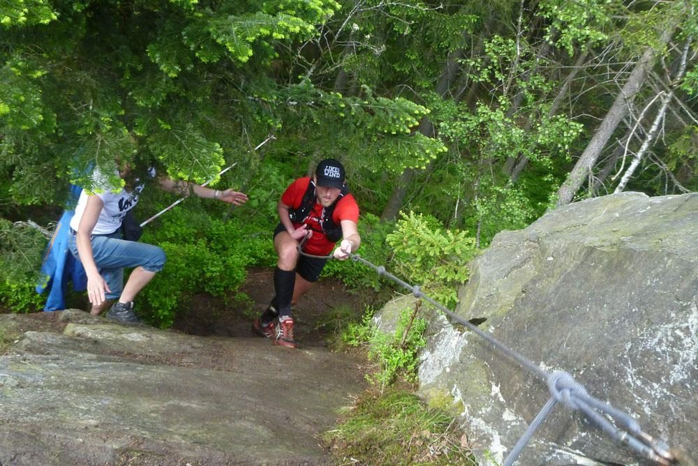 Probleme? Nö, Herausforderungen. Klettern Basic.