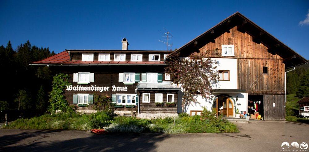 Unser Basecamp: Walmendinger Haus in Riezlern