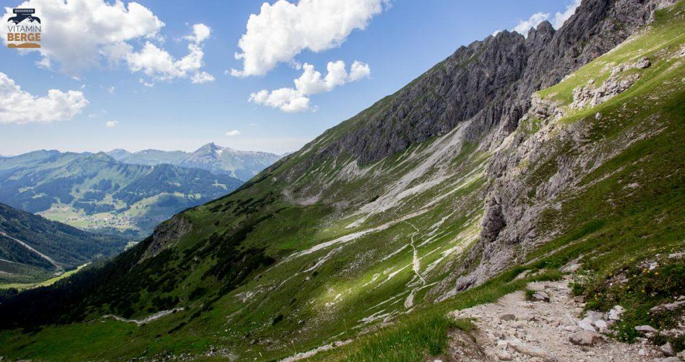 Trail zur Alpe Kuhgehren
