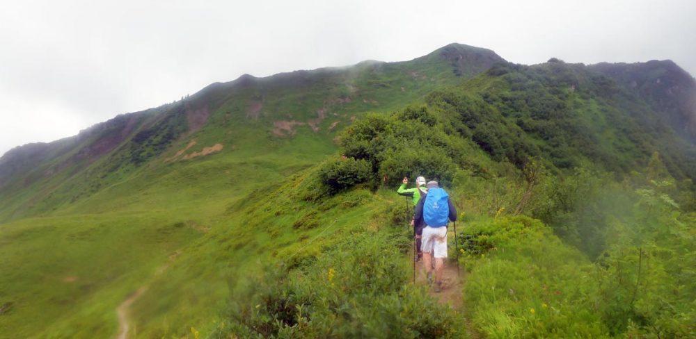 Aufstieg zum Grünhorn