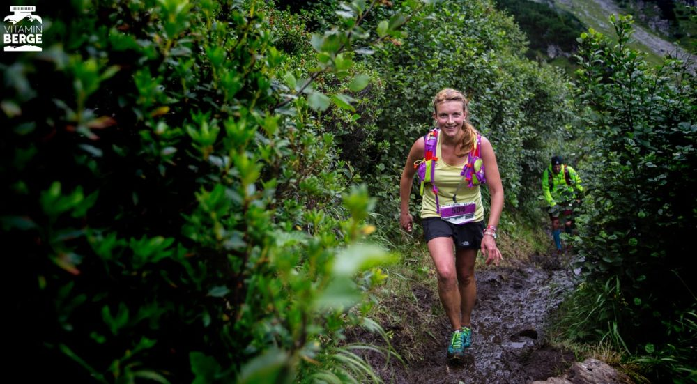 Der matschige Uphill zum Rifflsee