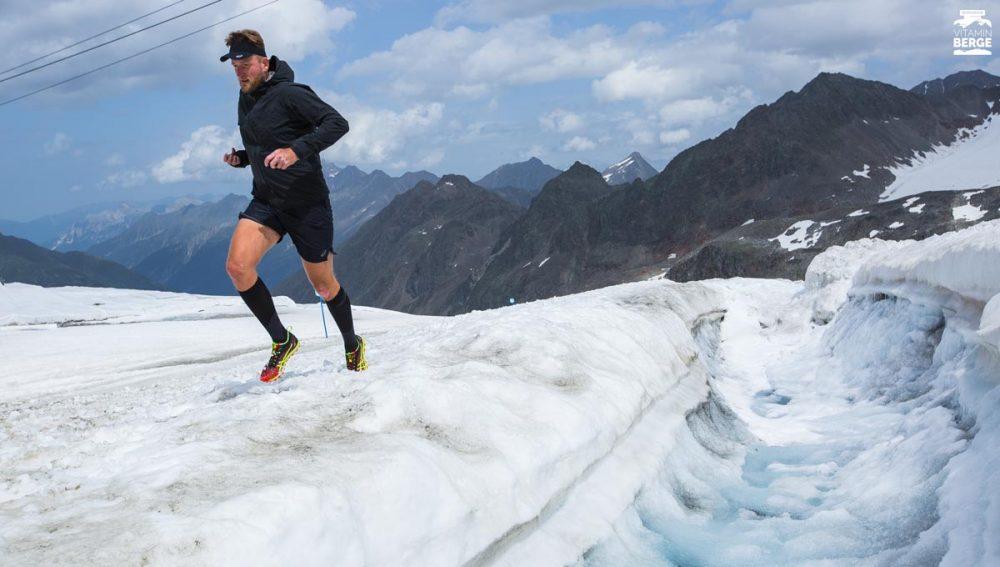Selfie auf dem Stubai Gletscher
