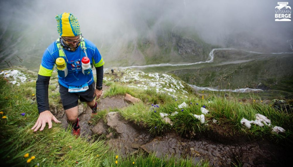 Die Trails auf dem Fuldaer Höhenweg war matschig glitschig. Die richtige Schuhwahl war entscheidend