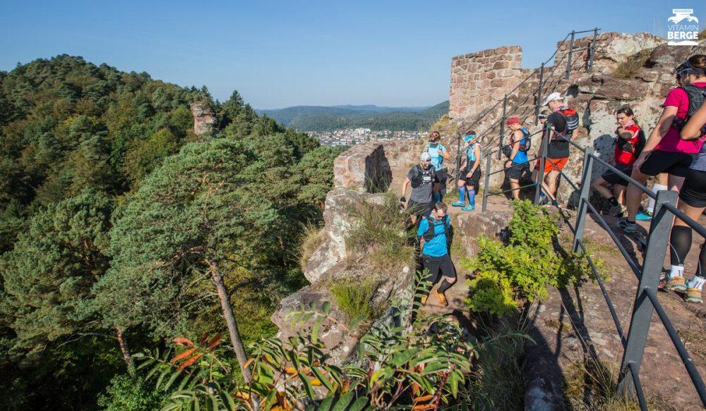Abstieg von der Burg