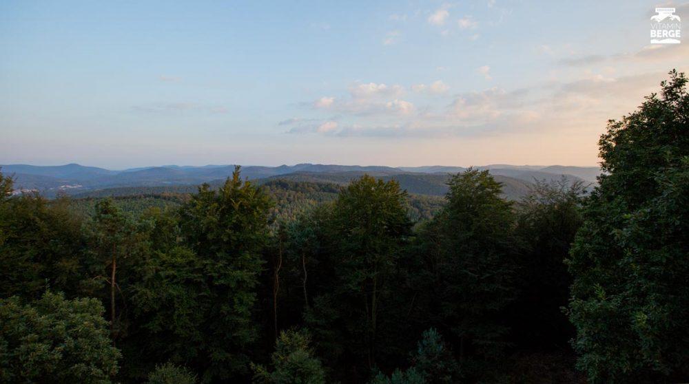 Ausblick vom Turm auf dem Großen Eyberg