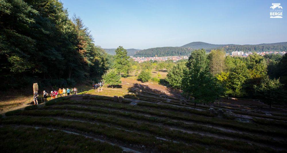 Kriegsfriedhof oberhalb Dahn