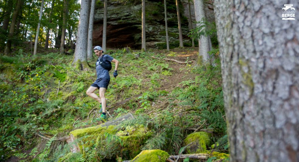 Downhill durchs Gestrüpp.