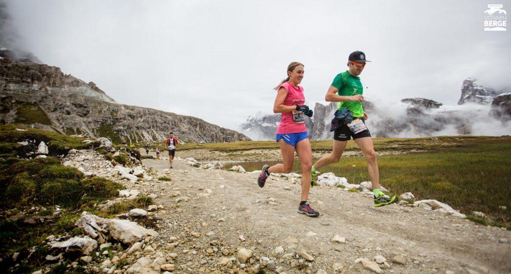 Lea Bäuscher und Dennis Pemsel vom Asics Frontrunner Team