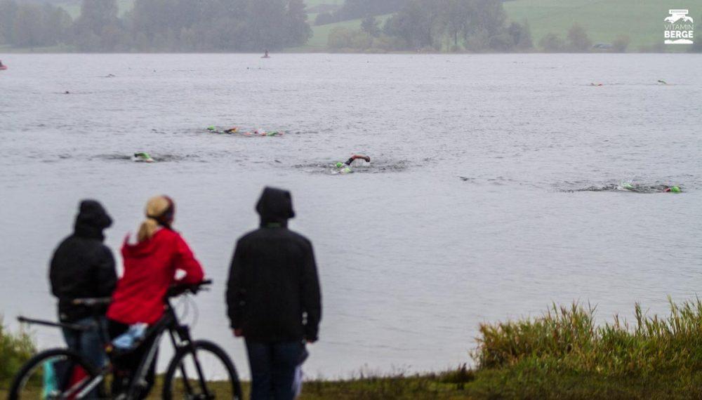 Zuschauer am Rottachsee