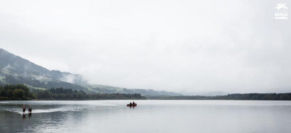 Swimrunner im Grüntensee