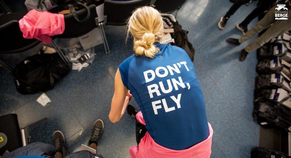 Don't run. Fly. Kampange des Dynaflythe.
