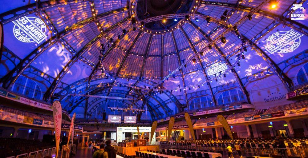 Frankfurt Festhalle bei meinem ersten betreten.