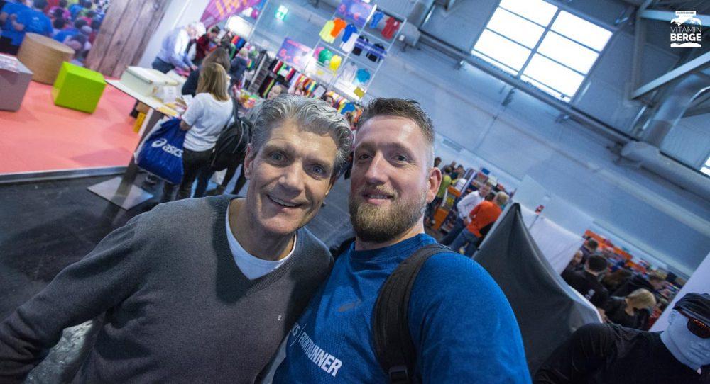 Mein Selfie mit Runnersworls Chefredakteur Martin Grüning.