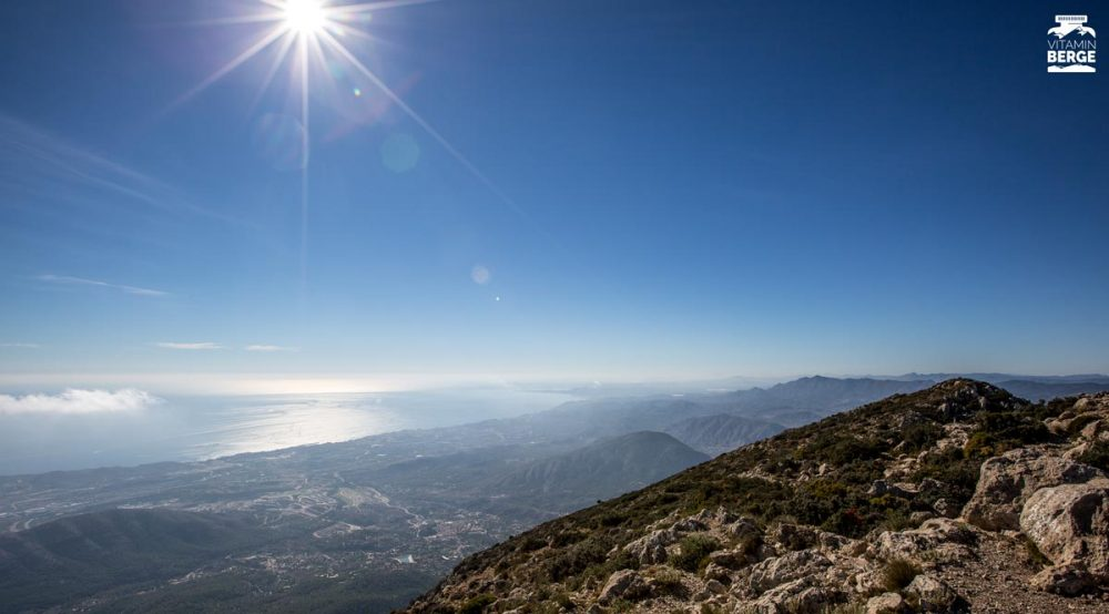 Blick vom Puig Campana Richtung Alicante