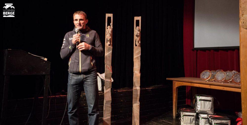 Vortrag von Ueli Steck