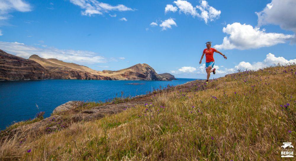 Julia Trailschnittchen Böttger bei der Vorbereitung auf den MIUT auf Madeira