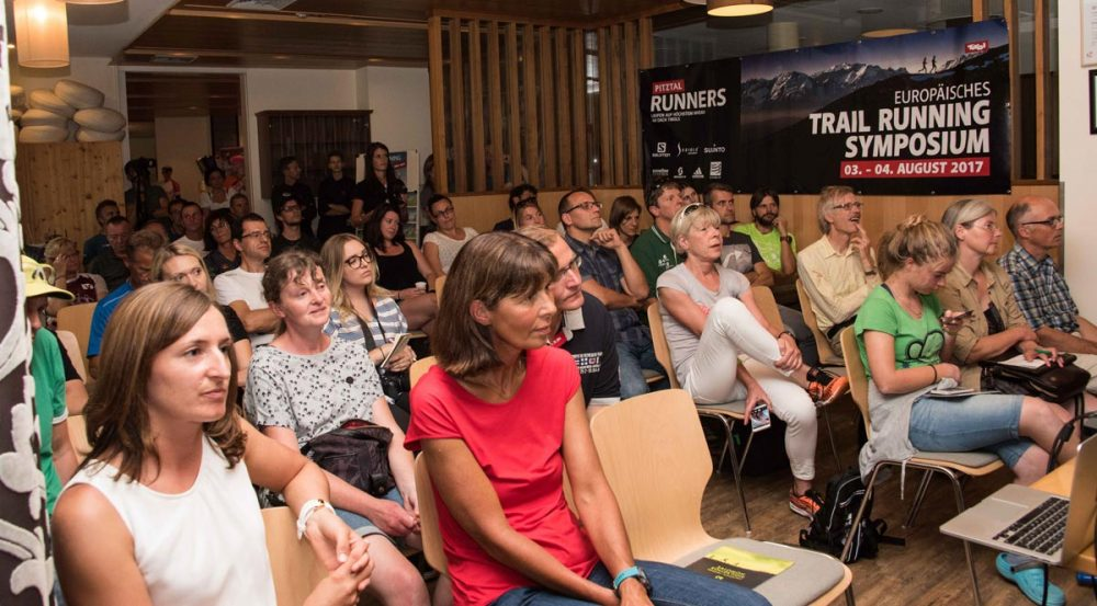 Gäste des des Trailrunning-Symposiums