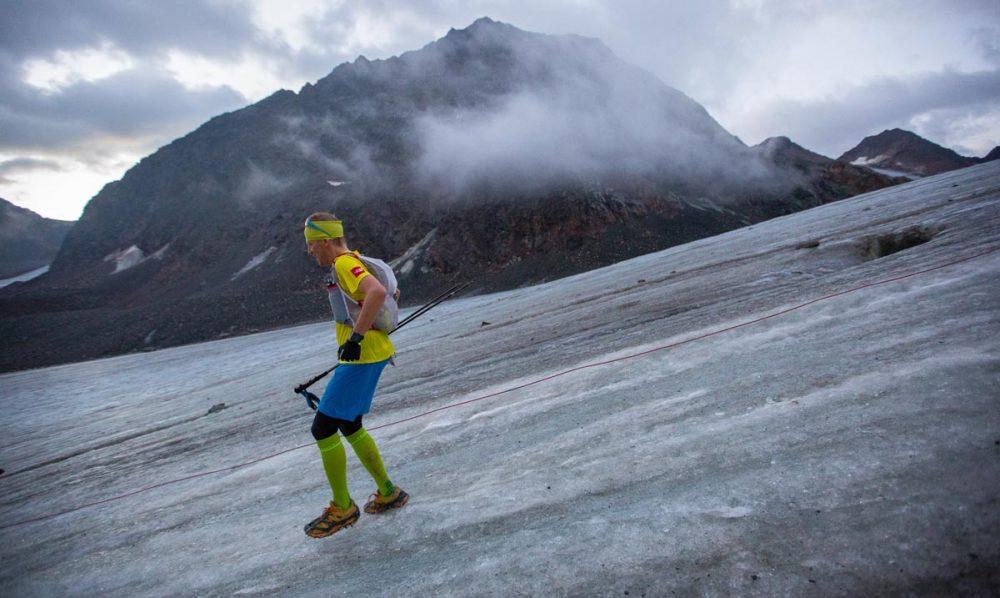 Downhill auf dem Gletscher - ein besonderes Erlebnis.